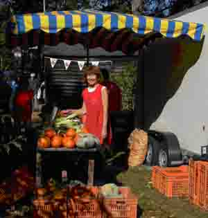 A Stall at Apple Day